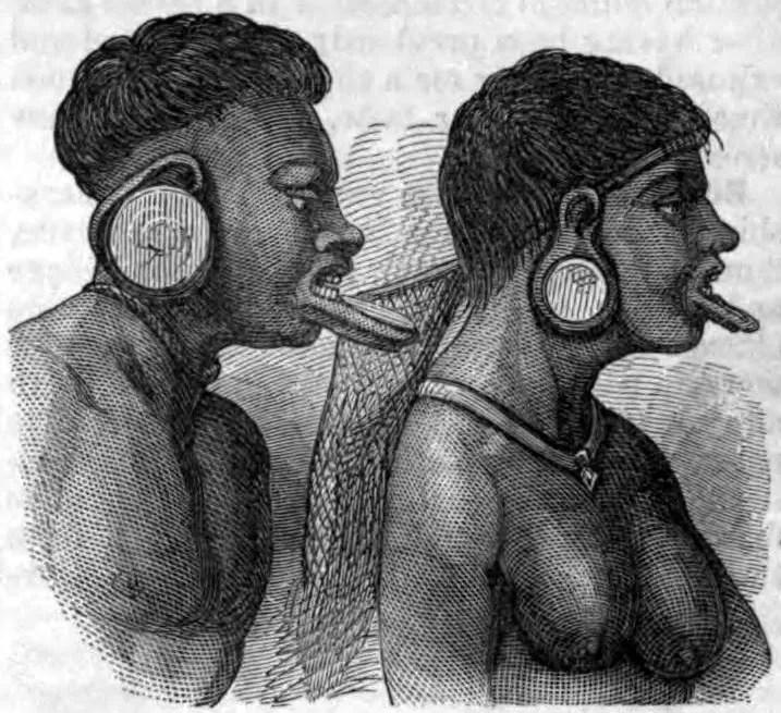 Botocudos (Foto: Wikimedia Commons)