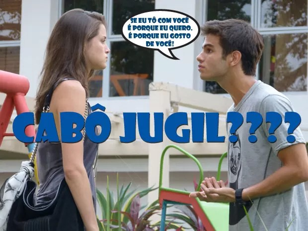 Fala sério! A Ju tá MTO trabalhada no ciúmes! Cabô JuGil? :(  (Foto: Malhação / Tv Globo)