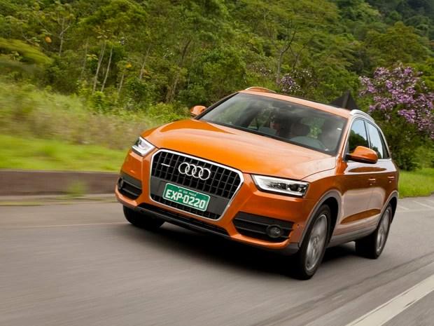 Audi Q3 foca os itens de conforto (Foto: Divulgação)