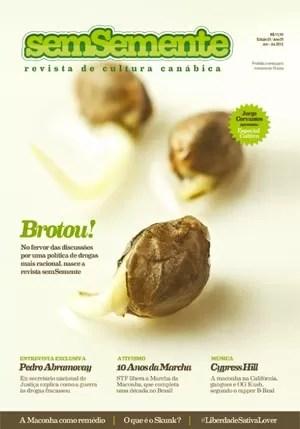 Capa Revista SemSemente (Foto: Reprodução)