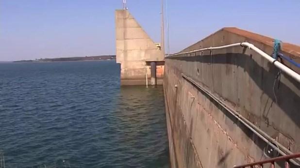 Estiagem faz nível das hidrelétricas do noroeste paulista ficar mais baixo (Foto: Reprodução/TV Tem)
