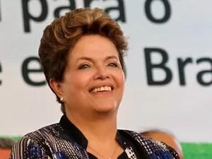 A presidente Dilma Rousseff durante cerimônia em Rosário do Catete (SE) (Foto: Roberto Stuckert Filho / Presidência)