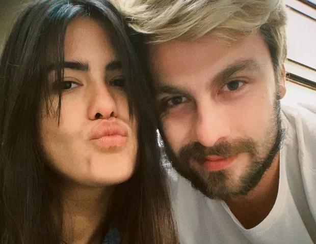 Antonia Morais e o novo namorado (Foto: Reprodução )