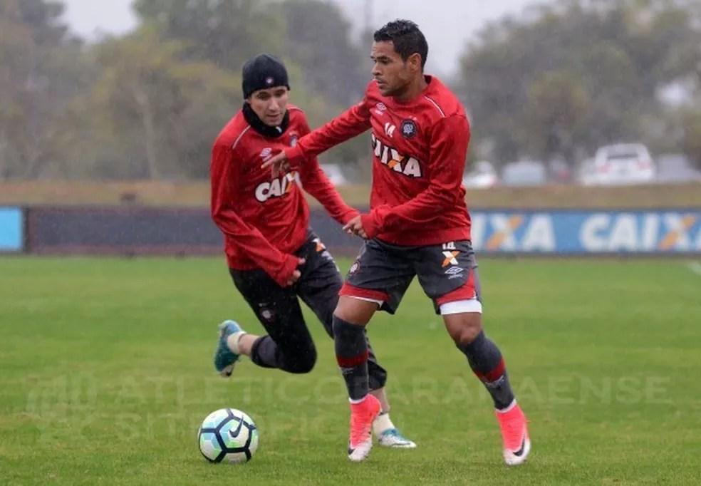 Atlético Paranaense treina para enfrentar o São Paulo (Foto: Créditos: Fabio Wosniak/Site Oficial)