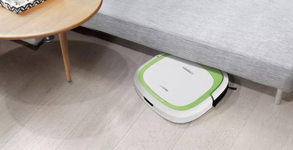 Outros modelos intermediários também podem entrar embaixo de móveis e fazer limpeza completa (Foto: Divulgação/Deebot)
