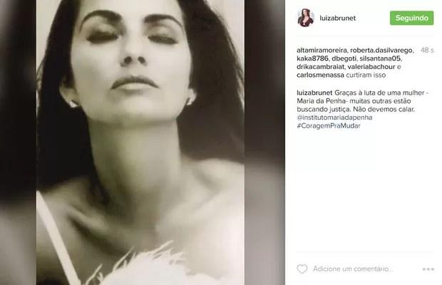 Luiza Brunet (Foto: Reprodução / Instagram)