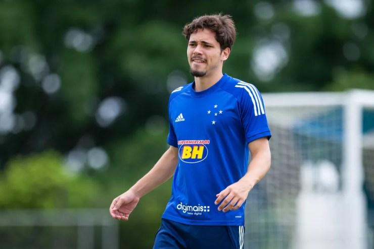 Maurício, do Cruzeiro — Foto: Bruno Haddad