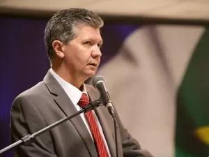 O secretário de Segurana Pública de Mato Grosso, Alexasndre Bustamante. (Foto: Josi Pettengill / Secom-MT)