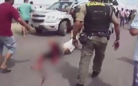 Manifestante morreu depois de ser baleado durante protesto em Itambé (Foto: Reprodução/WhatsApp)