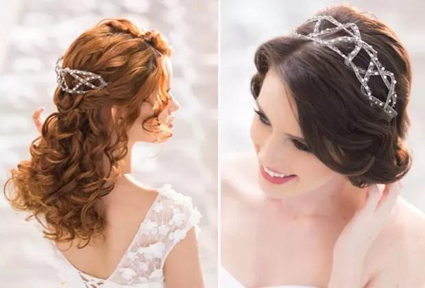 Dois penteados semipresos de Paulo Persil (Foto: Ricardo Hara )