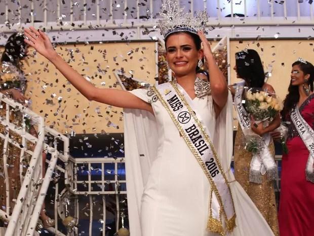Goiana Beatrice Fontoura é a nova Miss Mundo Brasil (Foto: Leonardo Rodrigues/Divulgação)