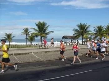 Iúri Totti na Maratona do Rio de 2009