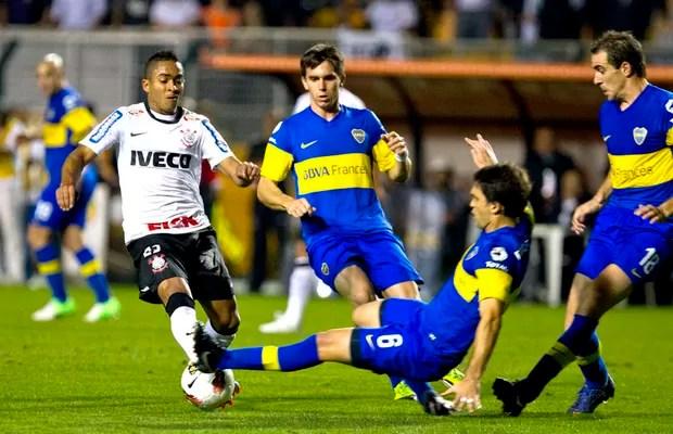 Corinthians x Boca Juniors (Foto: Daniel Augusto Jr / Ag. Corinthians)