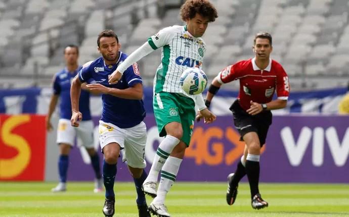 Camilo no jogo da Chapecoense contra o Cruzeiro (Foto: THOMAS SANTOS/AGIF/ESTADÃO CONTEÚDO)