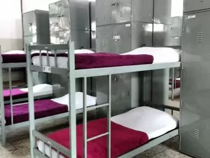 Alojamento masculino na EsPCEx em Campinas (Foto: Renata Victal)