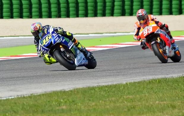 Valentino Rossi e Marc Márquez Moto GP  (Foto: Reuters)