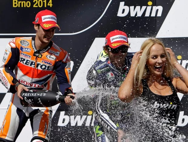 danipedrosa-reu - (MotoGP) Dani Pedrosa tira invencibilidade de Márquez e triunfa na etapa de Brno.