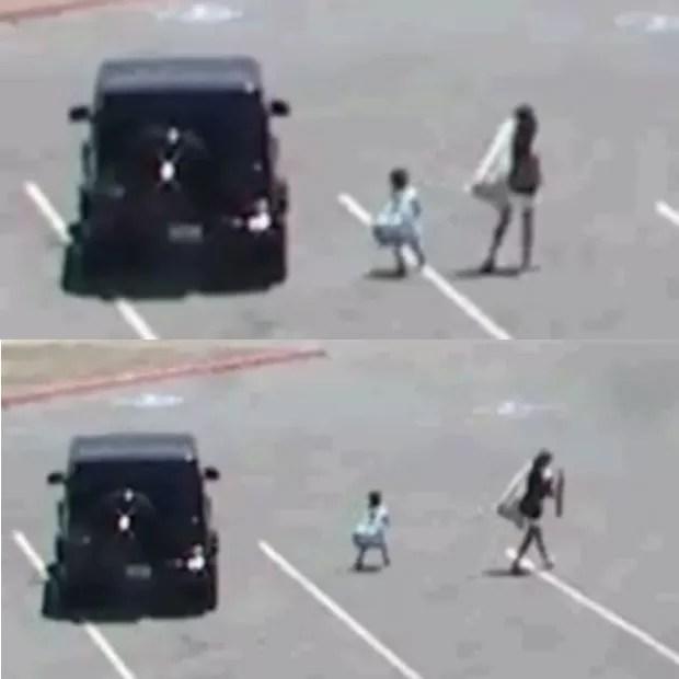 Últimas imagens de Naya Rivera (com o filho Josey) antes do desaparecimento dela (Foto: Reprodução)