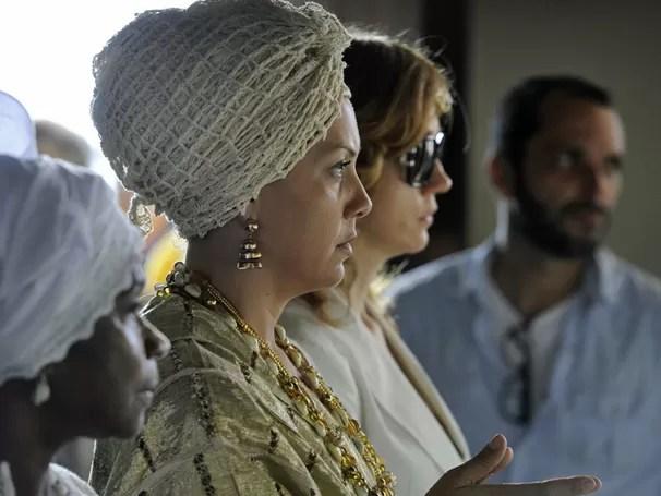 Fabíula Nascimento será a Mãe Marina na nova microssérie (Foto: TV Globo / Estevam Avellar)
