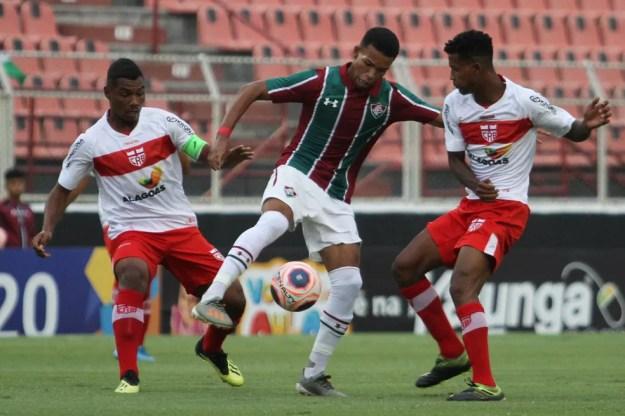 CRB eliminou o Fluminense na Copinha e chegou na terceira fase da competição — Foto: LUCIANO CLAUDINO/CÓDIGO19/ESTADÃO CONTEÚDO
