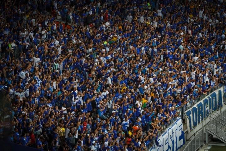 Mandande da partida , torcida do Cruzeiro será a maioria no Mineirão — Foto: Vinnicius Silva / Cruzeiro