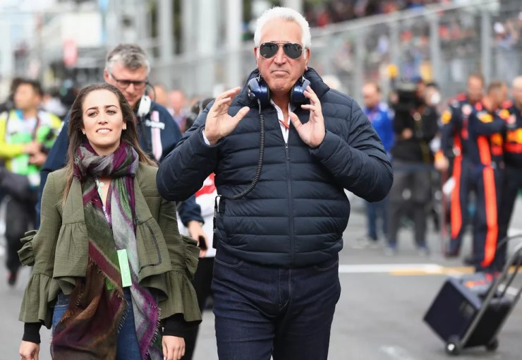 Lawrence Stroll no grid do GP do Azerbaijão, no fim de abril — Foto: Mark Thompson/Getty Images
