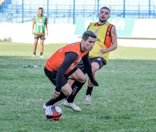 Borebi, atacante, Marília, Série A3 (Foto: Clodoaldo Moreira / Marília AC)