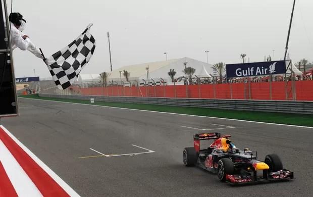 Vettel GP de Bahrein (Foto: AFP)