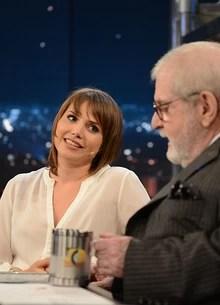 Letícia Colin e Murilo Ranulfo (TV Globo/Programa do Jô)