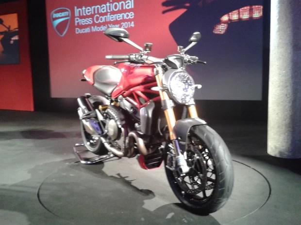 Ducati Monster 1200 (Foto: Rafael Miotto/G1)