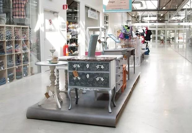 ReTuna Återbruksgalleria: shopping que só vende artigos usados ou de segunda-mão (Foto: Divulgação)