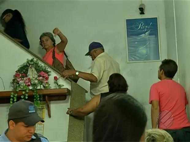 Pane em elevador prejudica pacientes de unidade de saúde em Belém (Foto: Reprodução/TV Liberal)