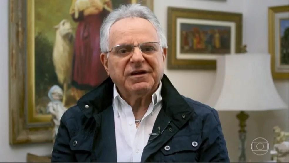Nassib, tio de Kaysar, foi às lágrimas — Foto: Reprodução/TV Globo
