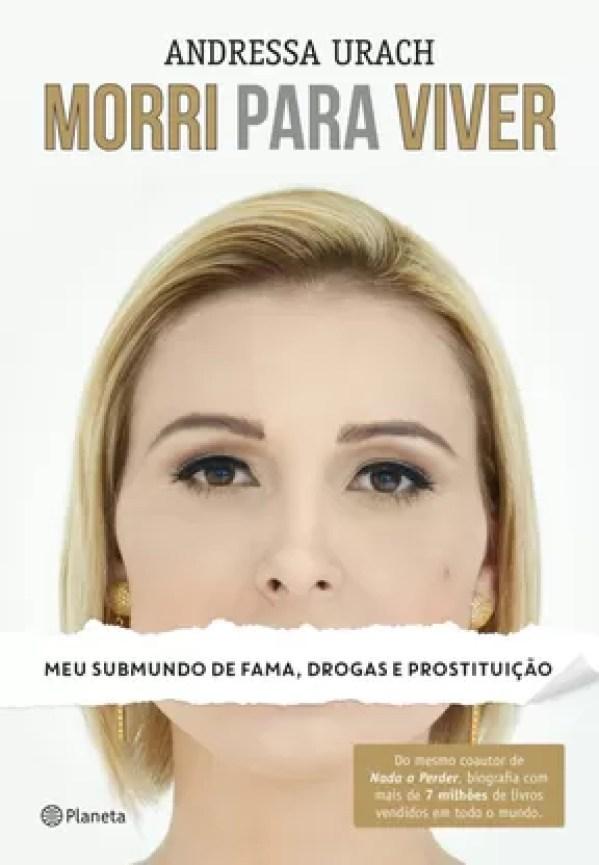 Capa do livro de Andressa Urach (Foto: Reprodução)