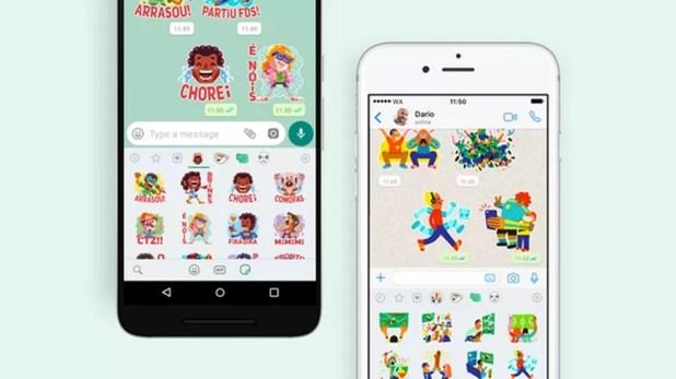 WhatsApp libera novos pacotes de figurinhas para Android e iPhone  — Foto: Divulgação/WhatsApp