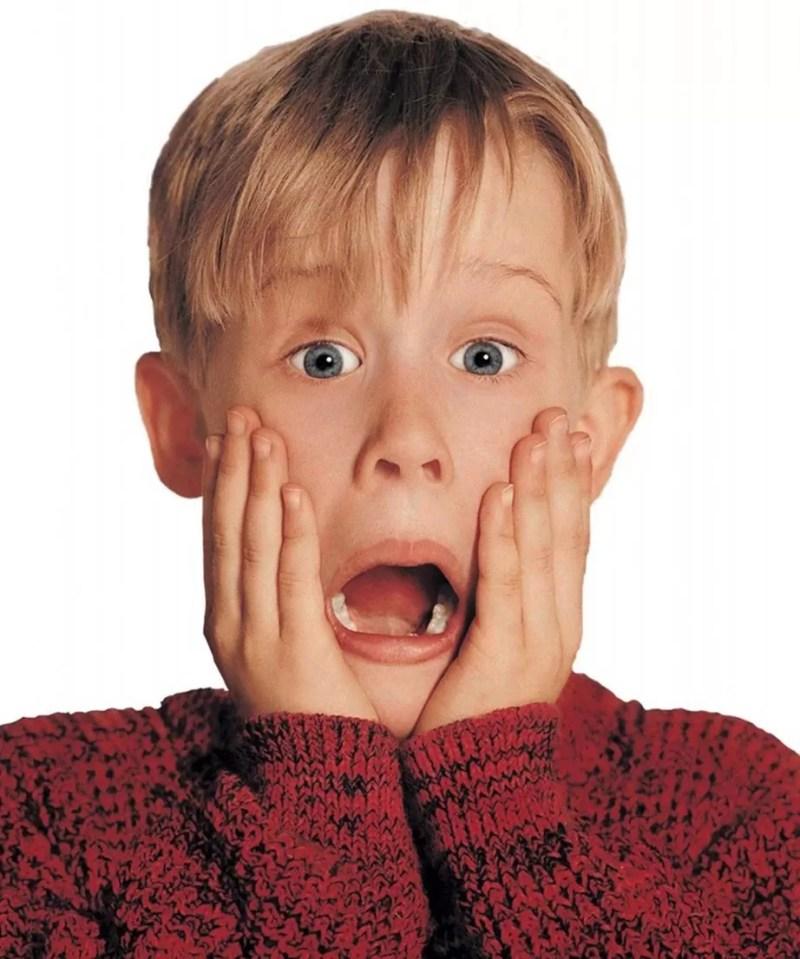 Macaulay Culkin em cena de 'Esqueceram de Mim' (1990) (Foto: Divulgação)