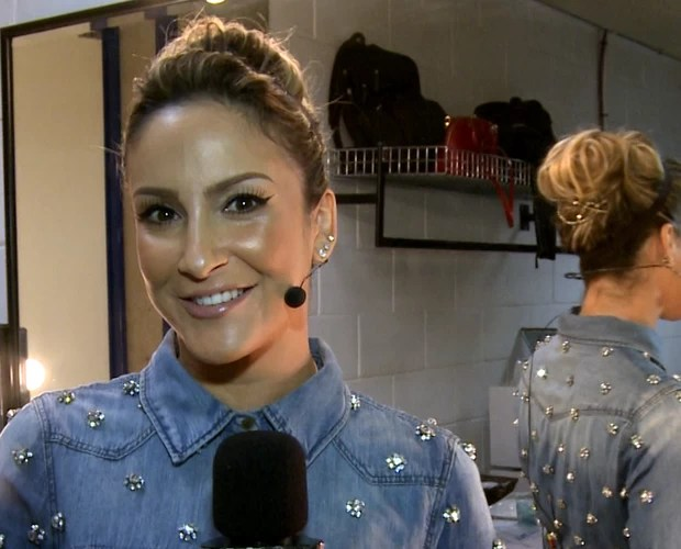 Claudia Leitte convida para a Semifinal do The Voice Brasil (Foto: TV Globo)