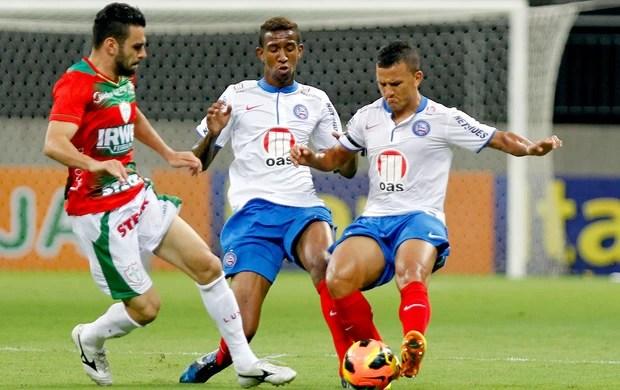 jogo Bahia e Portuguesa (Foto: Felipe Oliveira / Agência Estado)