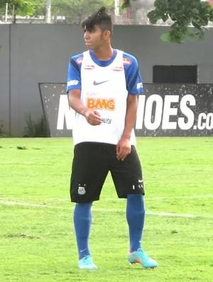Gabriel (Gabigol), Santos (Foto: Marcelo Hazan / Globoesporte.com)
