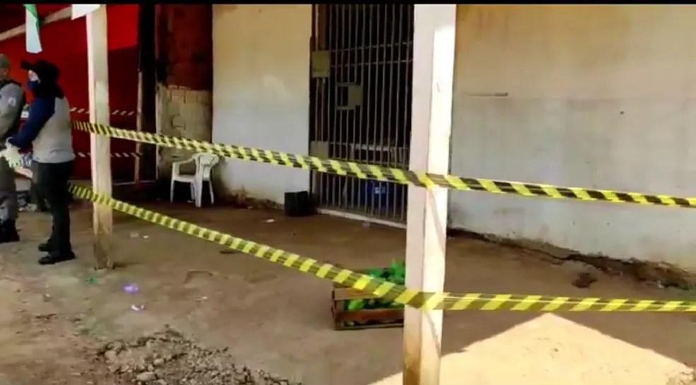 Região do Segundo Distrito de Rio Branco registrou três homicídios em cerca de 24 horas — Foto: Reprodução/Ithamar Souza
