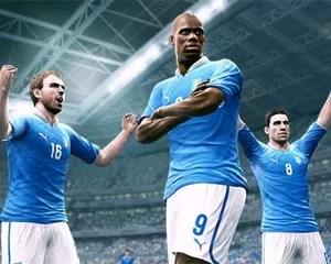 Seleção italiana pode ser usada na demonstração de 'Pro Evolution Soccer 2013' (Foto: Divulgação)