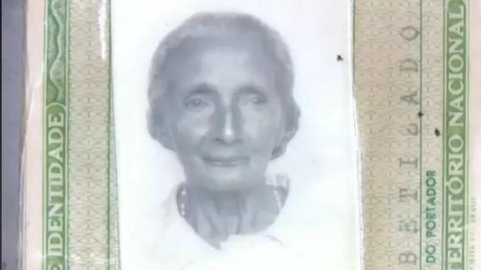 Dona Raimunda nasceu em 1910 (Foto: Reprodução Rede Amazônica Acre)