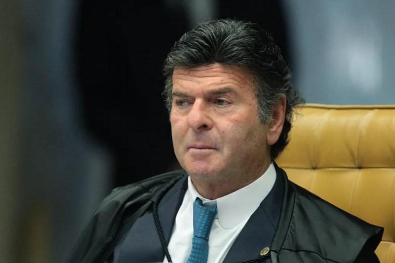 O ministro Luiz Fux, relator do caso no STF — Foto:  Carlos Moura/SCO/STF