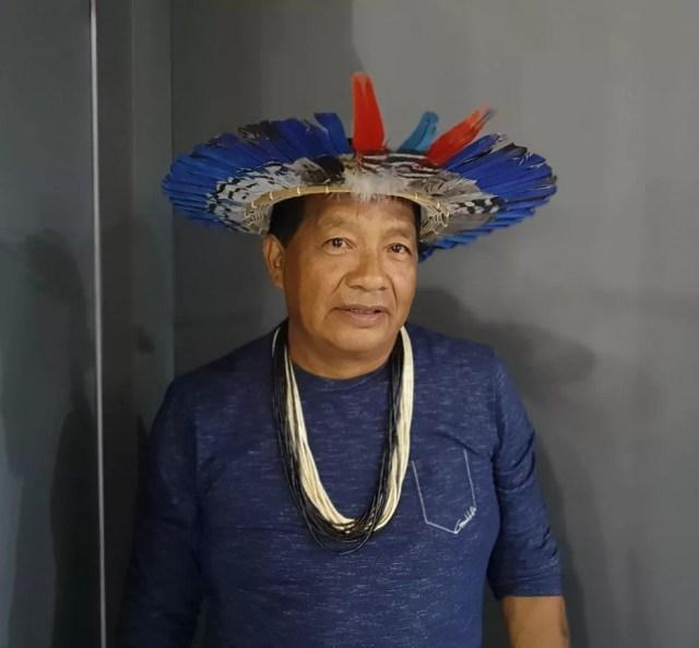 Wilson Nakodah Surui. — Foto: Renata Silva/Embrapa-RO