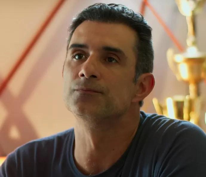Ricardo diz que quer Caio como técnico de Gabriel e Giovane (Foto: TV Globo)