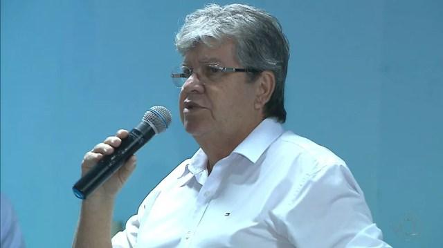 João Azevedo (PSB) foi eleito governador da Paraíba nas Eleições 2018 — Foto: Reprodução/TV Cabo Branco/Arquivo
