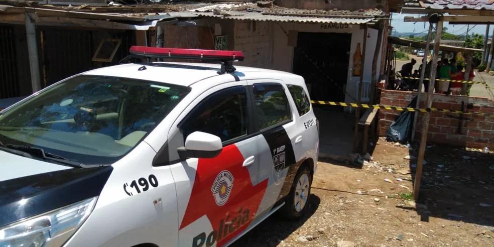 Local onde o corpo de Genilson José da Silva, de 35 anos, foi encontrado no Jardim Marisa, em Campinas (SP) — Foto: Polícia Militar/Divulgação