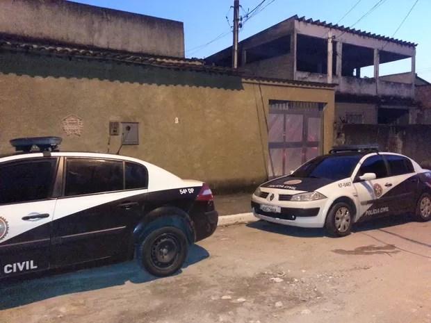 Operação da Polícia Civil é realizada no Rio, Paraná, Espírito Santo e Bahia. (Foto: Renata Soares/G1)