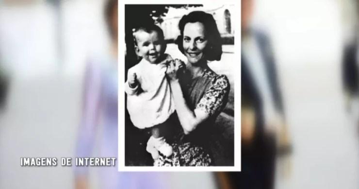 Alice Soares de Toledo, mãe da Rainha Silvia da Suécia, nasceu em São Manuel (SP) (Foto: Reprodução/TV TEM )