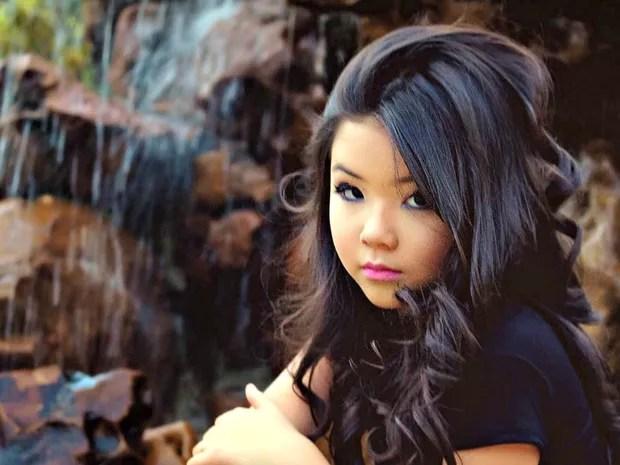Por ser oriental, Hayumi era confundida com a representante do Japão em concurso (Foto: Adriano Duarte/ Divulgação)